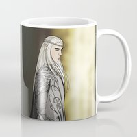thranduil Mugs featuring Legolas & Thranduil by rdjpwns