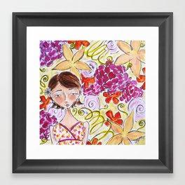 Abigail Framed Art Print
