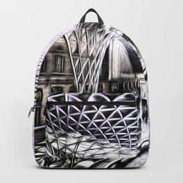 Kings Cross Station Art Backpack