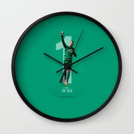 De Gea Best Saves Wall Clock