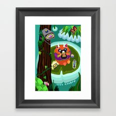 Fred Tifenn Framed Art Print