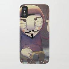 anonymous iPhone X Slim Case