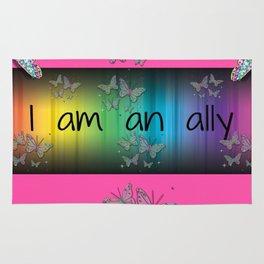 I Am an Ally Rug