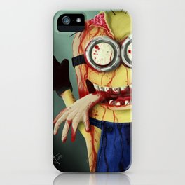 Zombie minion iPhone Case