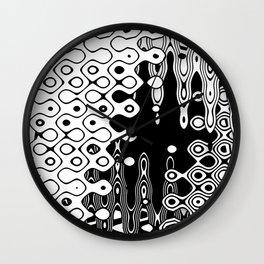 Bubblelized waves on the hole Wall Clock