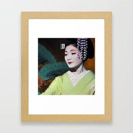 Geisha Maiko IV Framed Art Print