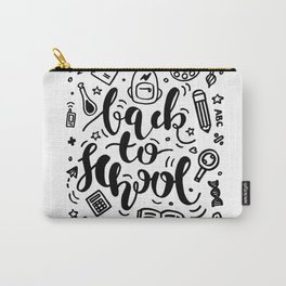 Back to School Education Poster Carry-All Pouch