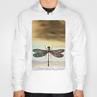 dragonfly Hoodies featuring DRAGONFLY  by Pia Schneider [atelier COLOUR-VISION]