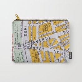 Paris Streets 3 Carry-All Pouch