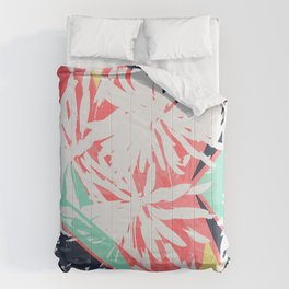 Floral Geometrics Comforters