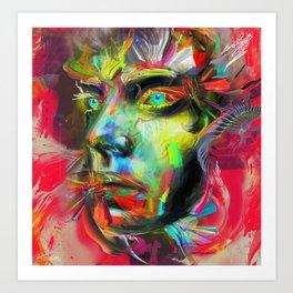 Rainscape Rhythm Art Print