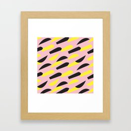 pattern no.6 / more than happy Framed Art Print