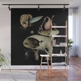 Tree Man, Surreal, Hieronymus Bosch, The Garden of Earthly Delights Wall Mural