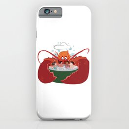 Lobster Chef iPhone Case