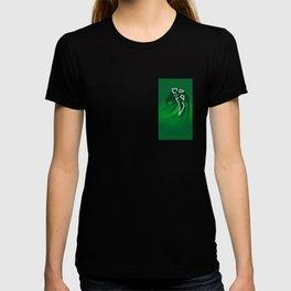 Enlightened Green Parrot T-shirt