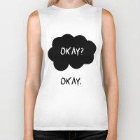 okay Biker Tanks featuring Okay by alboradas