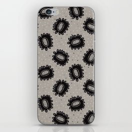 Boho Floral Daisies Allover iPhone Skin