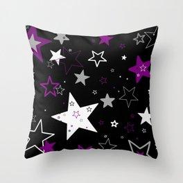 Ace Star Field Throw Pillow