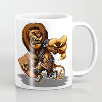 thundercats Mugs featuring Lion-O Ultimate by Alexander Santos