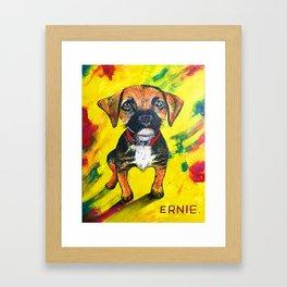 Hello Ernie Framed Art Print