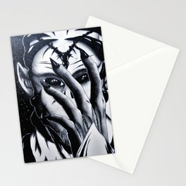 Alien Stare Stationery Cards