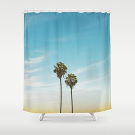 Stay Close to Me (Florida Palms) Shower Curtain