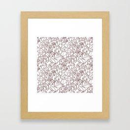 Joysticks Framed Art Print