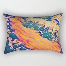 Alpine Overflight Rectangular Pillow