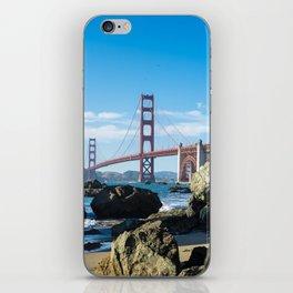 Golden Gate Bridge from Baker Beach iPhone Skin