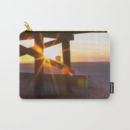 Beachy Sunset Carry-All Pouch