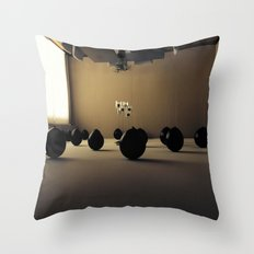 Float II Throw Pillow