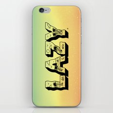 LAZY iPhone & iPod Skin