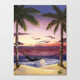 Sleep by the Sea Canvas Print