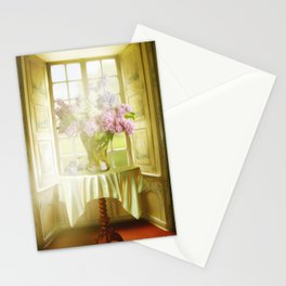 Springtime In My Window Stationery Cards