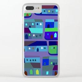 Tepito de Azul Clear iPhone Case