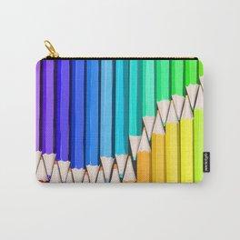 Rainbow of Creativity Carry-All Pouch