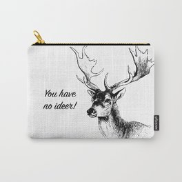 Deer with Antlers Carry-All Pouch