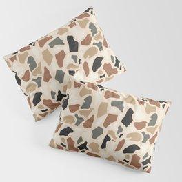 Abstract Terrazzo - Earth Tones Pillow Sham