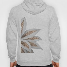 Agave Finesse Glitter Glam #9 #tropical #decor #art #society6 Hoody