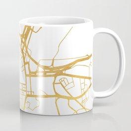 BELFAST UNITED KINGDOM CITY STREET MAP ART Coffee Mug
