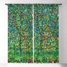 "Gustav Klimt ""Apple tree"" I Blackout Curtain"