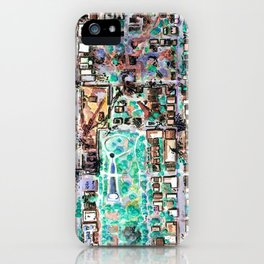 The Seattle Doomsday Map iPhone Case