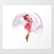 don't burst my bubble Art Print