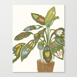 Scandinavian Plant Canvas Print
