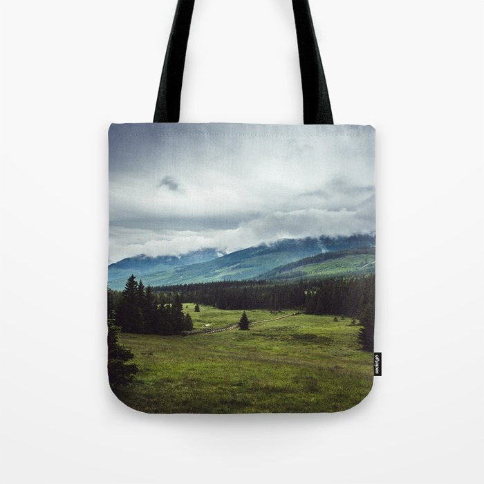 Mountain Trail - Landscape and Nature Photography Tote Bag