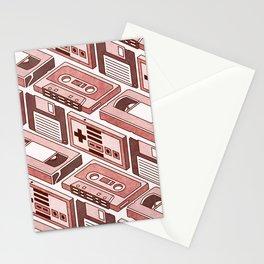 90's pattern Stationery Cards
