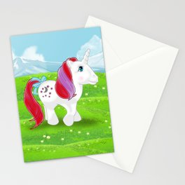 g1 my little pony Moondancer Stationery Cards