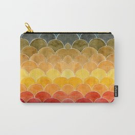 Rainbow Scallops Carry-All Pouch