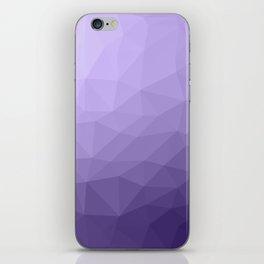 Ultra violet purple geometric mesh iPhone Skin
