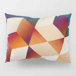 Oil Slick Cubes Pillow Sham